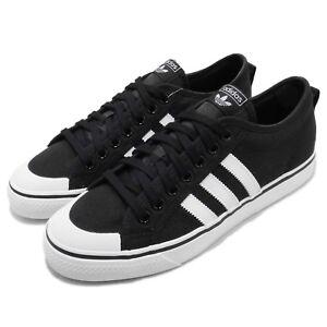 adidas-Originals-Nizza-Black-White-Canvas-Men-Casual-Shoes-Sneakers-CQ2332
