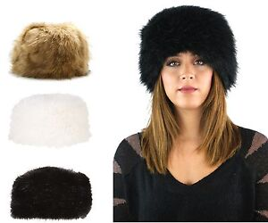 0a8c06cf1aa WOMENS LADIES RUSSIAN STYLE FAUX FUR COSSACK HAT ...