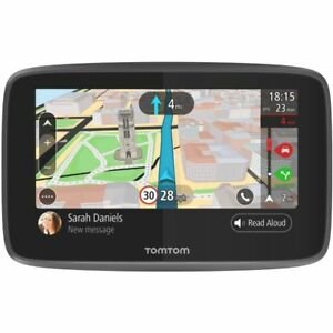 "TomTom GO 5200 5"" Sat Nav Wi-Fi Lifetime World Maps Traffic Updates SIM Card"