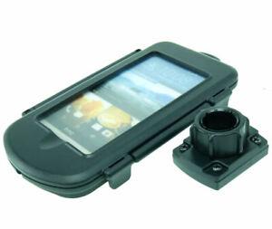 Impermeable-Etui-Coque-Rigide-Pour-HTC-ONE-M9-amp-25mm-2-5cm-Prise-Adaptateur