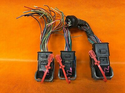 WIRING HARNESS PLUG CONNECTOR 05 CHEVY COLORADO ECU ECM ...