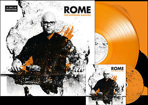 ROME-The-Hyperion-Machine-LP-CD-Of-the-Wand-and-the-Moon-Death-in-June-Forseti