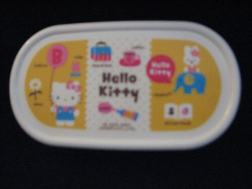 Sanrio Hello Kitty Container Microwavable Oval Small Y