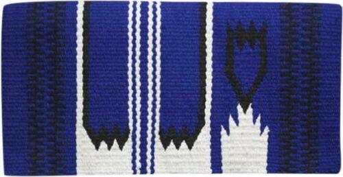 "36/"" x 34/"" 100/% New Zealand Wool Western Show Saddle Blanket"