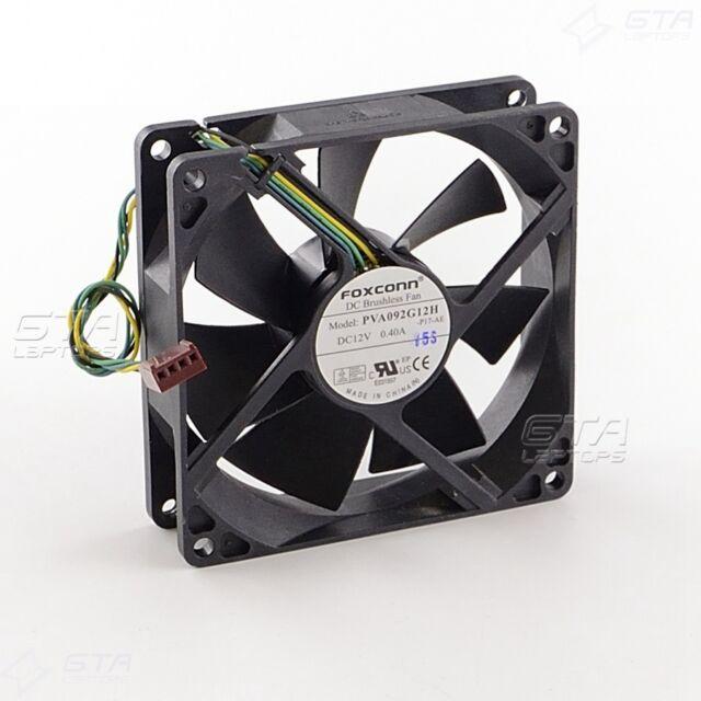 Foxconn PVA092G12H Cooling Fan 12V 0.4A 4Pin 92x92x25mm
