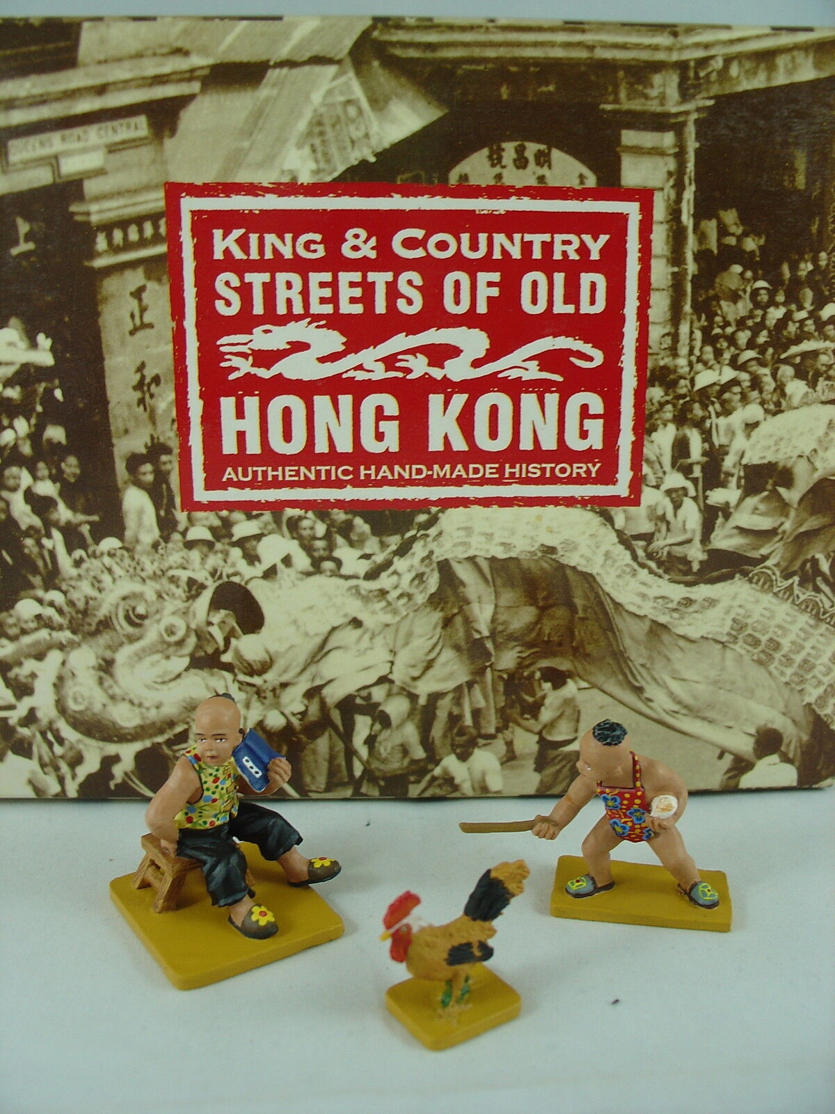 KING AND COUNTRY COUNTRY STREETS OF OLD HONG KONG - STREET KIDS HK142M
