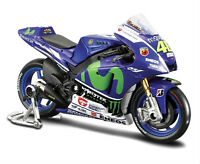 Valentino Rossi 2015 Factory Yamaha 46 - 1:18 Die-cast Motogp Model By Maisto