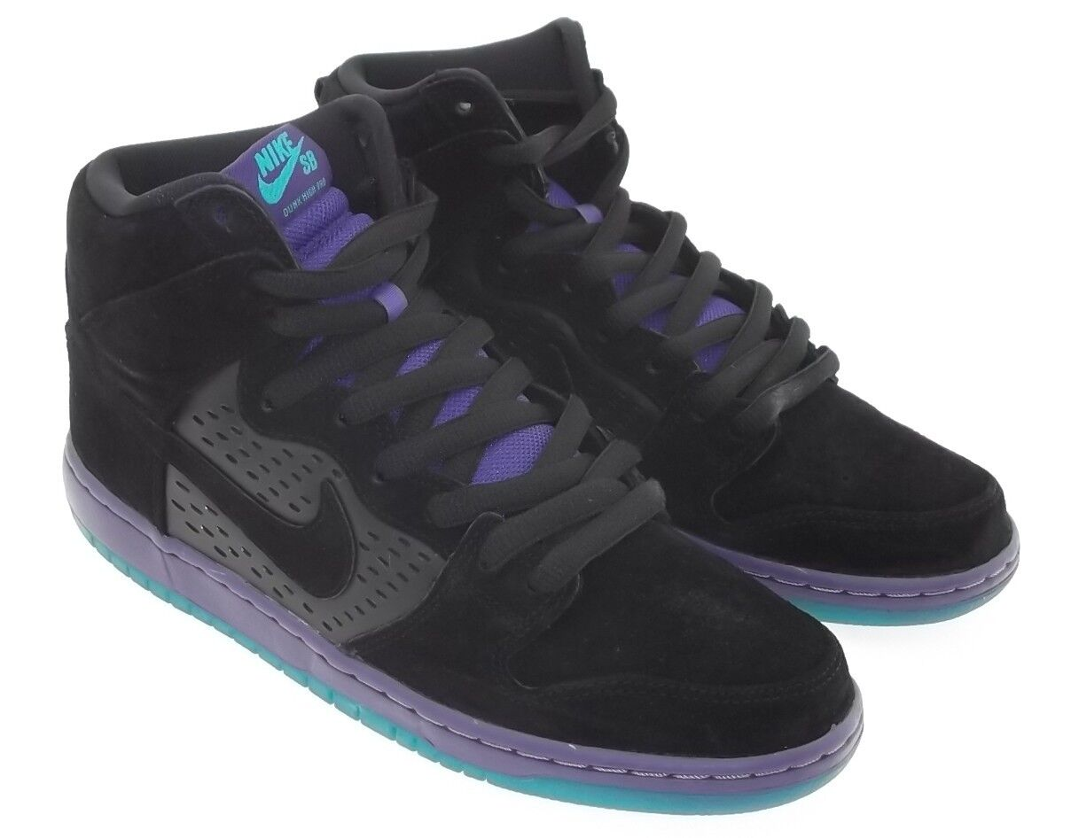 Nike Men Dunk High SB Premium - Black Grape 313171-027