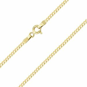 2e2900a1677e6 14K Solid Yellow Gold Cuban Necklace Chain 2mm 16-24