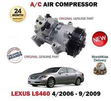 FOR LEXUS LS460 4.6 1UR-FSE 2006-9/2009 NEW ORIGINAL AC AIR CONDITION COMPRESSOR
