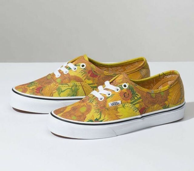 c2fe5da9d37d VANS Vault Authentic Vincent Van Gogh Sunflower UK 3 US 4 for sale ...