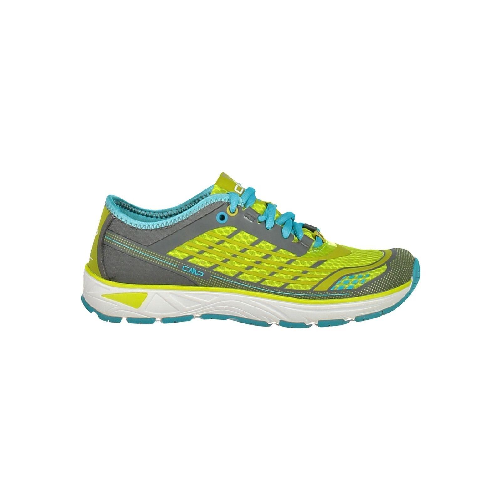 CMP zapatillas calzado deportivo libre WMN Running Running Running zapatos gris ligeramente monocromo Mesh cb653c