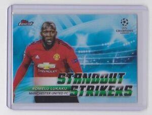 2018-19 Topps Finest CL Standout Strikers Romelu Lukaku Manchester United