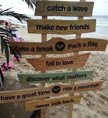 Surf Beach Quotes Ocean 100 Cotton Canvas Quality Print Wall Art Home Decore Home Garden Home Decor Posters Prints