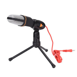 Microphone-Condenser-Sound-Studio-Recording-Dynamic-Mic-With-Stand-Holder