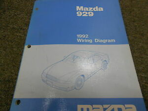 Details about 992 Mazda 929 Electrical Wiring Diagram Service Repair on 73 cuda wiring diagram, 70 chevelle wiring diagram, 80 camaro wiring diagram, 1992 corvette wiring diagram, 67 mustang wiring diagram, 1994 corvette wiring diagram, 91 corvette wiring diagram, 1992 chevrolet wiring diagram, 92 corvette engine, 92 corvette cooling system, 94 camaro wiring diagram, 92 corvette brakes, 1993 corvette wiring diagram,