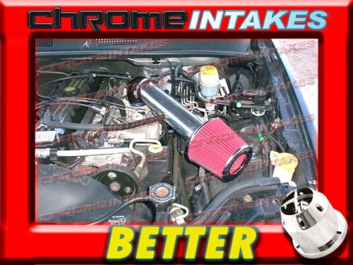 CF BLACK RED 1991-2004 JEEP CHEROKEE//GRAND 2.5 2.5L I4 4.0L I6 AIR INTAKE KIT 2