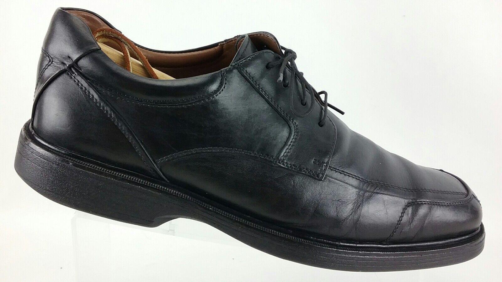 5ab0d562570 Murphy Men's Waterproof Apron Toe Oxford shoes 12M Black Leather R33 ...