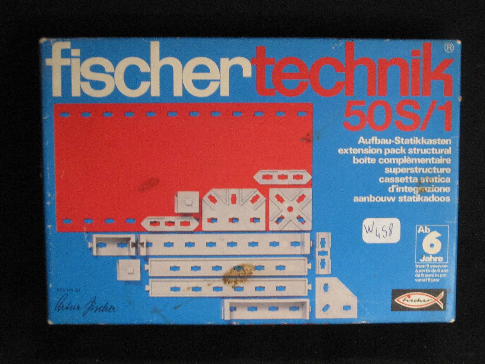 W458 FISCHER TECHNIK Réf. 50S 1 2 30160 5 TRES BON ETAT
