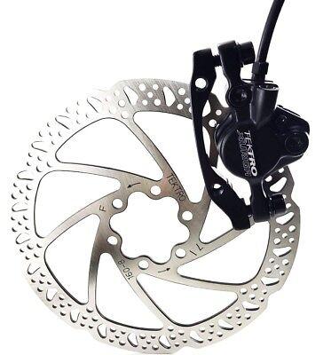TEKTRO HD-M290 AURIGA Hydraulic Disc Brake Set 160mm Rotor MTB Bike FRONT//REAR