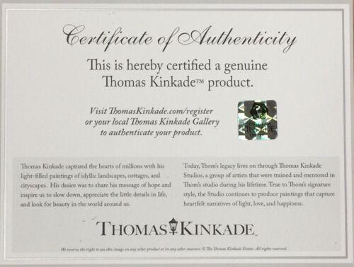 Your Choice Tangled or Beauty and the Beast 14x14 Wrap Thomas Kinkade Studios