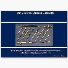 Die Deutschen Marineblankwaffen von Ralf Siegert, Buch Dolch Dagger Dienstdolche