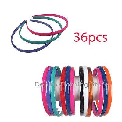 36pcs Women Mix Colors Headband Hair Band Hoop Hairpin Accessory Wholesale Lots