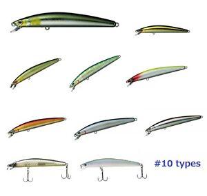 DAIWA-T-D-MINNOW-95SP-esca-Jerk-bait-BLACK-BASS-FISHING-10-tipi