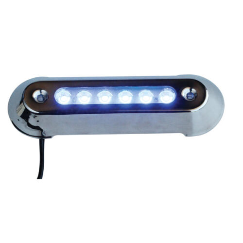 LED UNDERWATER LIGHT 4 PACK BLUE Marine/ Boat/POOL 12 Volt