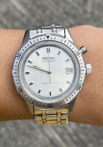 Vintage Seiko 1964 one push chronograph 5717-8990