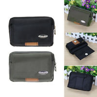 New Men's Canvas Waist Pack Bum Belt Bag Purse Travel Hip Pouch Fanny Bag Sports