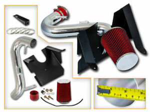 BCP RED 05-09 Mustang 4.0L V6 Cold Air Intake Kit + Filter
