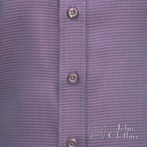 100 Colletto Rotondo Oxford Granata Penny Camicia Uomo Cotton Banchiere Club 5qOqU7