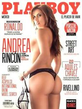 PLAYBOY MEXICO JULY 2014 ANDREA RINCON PLAYBOY MEXICAN EDITION NEW/SEALED