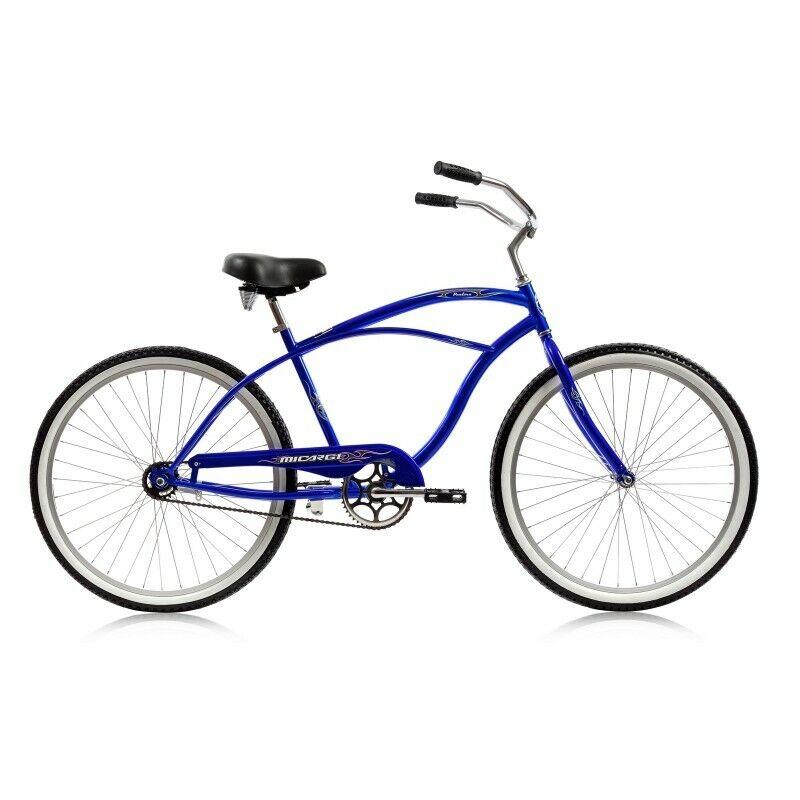 Micargi MBI 26  Pantera Men beach cruiser bicycle bike bluee