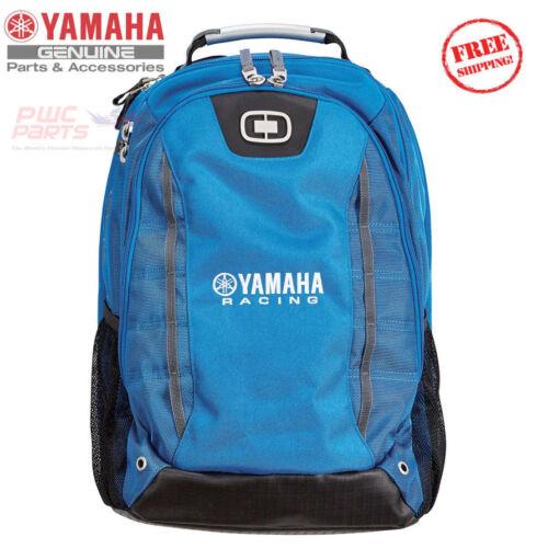YAMAHA Racing Limited Edition Backpack Bag Blue ATV MX GCR-17BPK-YR-BL