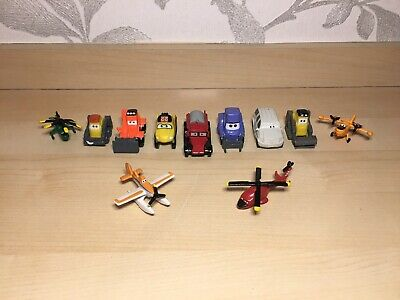 12Pcs Disney Planes Cars Helicopter Action Figures Toy Kid PVC Toy Xmas Gift