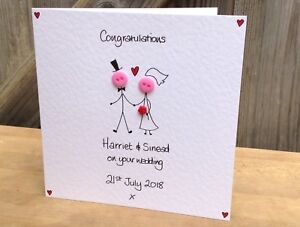 custom request only Handmade /& Personalised Button Card