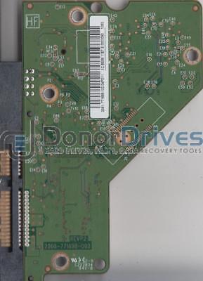 2061-771698-102 AA WD20EARS-00MVWB0 REV P1 WD SATA 3.5 PCB