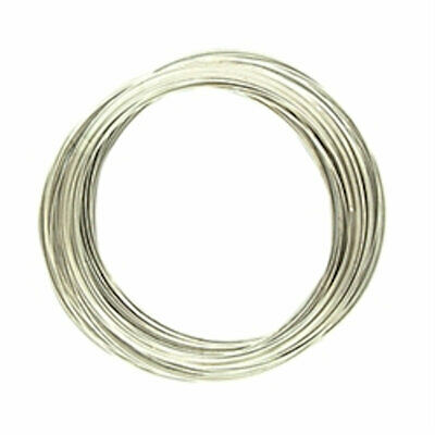 Beading /& Craft 20 Loops Bracelet Memory Wire 55mm Silver Tone Jewellery Making