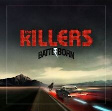 THE KILLERS - BATTLE BORN - NEW 2 X LP ON RED VINYL , FACTORY SEALED