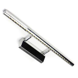 Applique lampada da parete specchio bagno 30 led luce bianco freddo cromato ebay - Lampada specchio bagno led ...