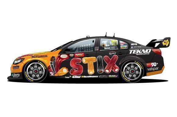 2016 BATHURST WINNER DAVISON & WEBB DARRELL LEA STIX HOLDEN 1 12 MODEL CAR