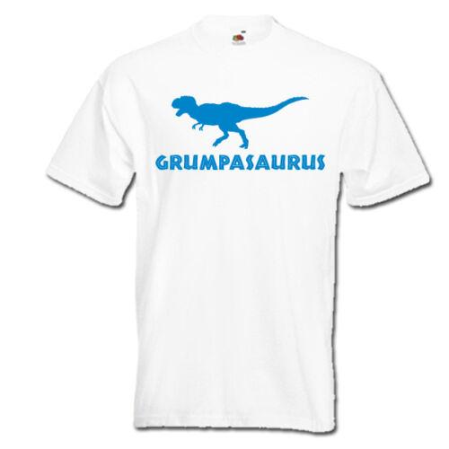 Grumpasaurus t-rex dinosaur mr grumpy papa dad dada daddy grandad mens t-shirt