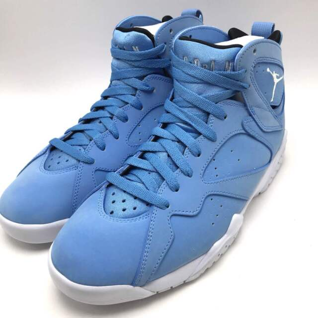 new product 34b0e 909cd Nike Air Jordan 7 Retro Men s Shoes University Blue White-White 304775-400