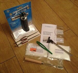 Soldering Tool Kit For Gold Amp Silver Jewellery Repairs