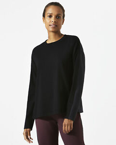 Jigsaw Technical Knitted Side Zip Jumper Womens New Black