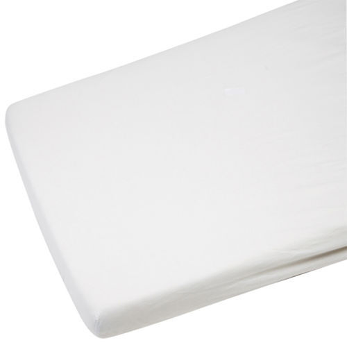 2x Cot Bed Jersey Fitted Sheet For Toddler 100/% Cotton 140x70cm White