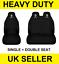 RENAULT MASTER Van Seat Covers Protectors 2+1 100/% WATERPROOF Black HEAVYDUTY