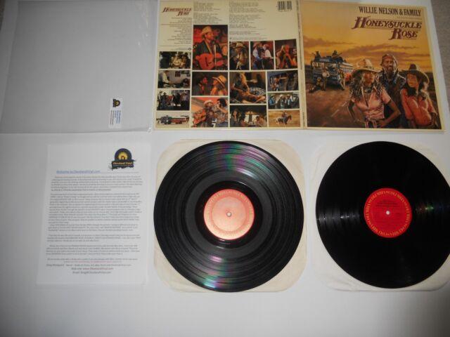 Willie Nelson & Family Honeysuckle Rose '80 1st EXC ULTRASONIC Clean